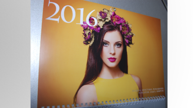 Полиграфический центр МедиаГрад, Топ Квартального календарь КМД меаллик 5