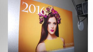 Полиграфический центр МедиаГрад, Топ Квартального календарь КМД меаллик 8