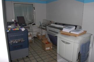 Полиграфический центр «МедиаГрад» , техническое помещение.