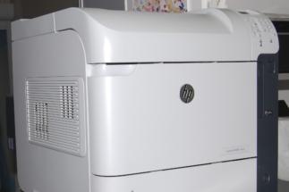 HP Laser Jet 600 M603Dn